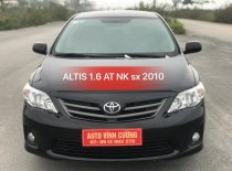 Bán xe Toyota Corolla 1.6 XLI đời 2011, màu đen, nhập khẩu nguyên chiếc giá 560 triệu tại Hà Nội