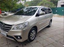 Bán ô tô Toyota Innova sản xuất năm 2015, màu vàng xe gia đình giá 580 triệu tại Hà Nội