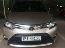 Bán xe Toyota Vios năm sản xuất 2015, chính chủ giá cạnh tranh giá 500 triệu tại Hải Phòng