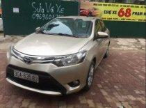 Bán Toyota Vios E năm 2015, màu vàng cát giá 455 triệu tại Hà Nội