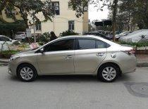 Cần bán lại xe Toyota Vios G đời 2017, màu vàng, như mới giá 530 triệu tại Hà Nội