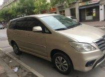 Bán xe Toyota Innova E sản xuất 2015, màu vàng, chính chủ, giá tốt giá 540 triệu tại Hà Nội