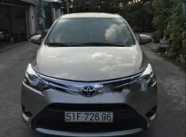 Cần bán nhanh Toyota Vios E số sàn màu nâu, xe tư nhân ủy quyền, xe còn rất đẹp giá 443 triệu tại Tp.HCM