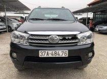 Cần bán Toyota Fortuner sản xuất năm 2010, màu đen số tự động, 528tr giá 528 triệu tại Hà Nội