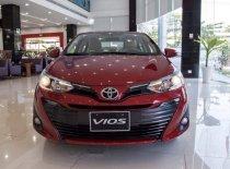 Bán Toyota Vios G sản xuất 2019, màu đỏ, giá tốt giá 606 triệu tại Tp.HCM