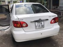 Cần bán Toyota Corolla altis đời 2001, màu trắng   giá 230 triệu tại Bình Định