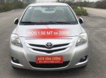 Bán Toyota Vios 1.5E MT sản xuất 2009, màu bạc giá 345 triệu tại Hà Nội