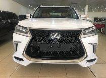 Giao ngay Lexus LX570 Super Sport S 2020 màu trắng, nội thất nâu giá 8 tỷ 900 tr tại Hà Nội