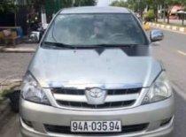 Bán xe cũ Toyota Innova G năm sản xuất 2007, màu bạc xe gia đình giá 330 triệu tại Bạc Liêu