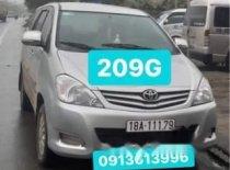 Cần bán xe Toyota Innova sản xuất năm 2009, màu bạc, giá chỉ 430 triệu giá 430 triệu tại Nam Định