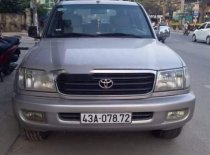 Bán Toyota Land Cruiser sản xuất 2002, màu bạc, xe nhập   giá 355 triệu tại Đà Nẵng
