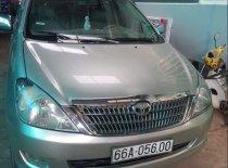 Bán Toyota Innova G đời 2006, màu bạc, xe đang hoạt động tốt giá 280 triệu tại Tiền Giang