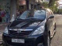 Bán xe Toyota Innova G sản xuất 2009, màu đen số sàn giá 350 triệu tại Bình Định