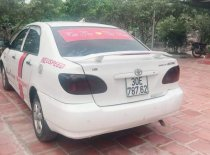 Bán Toyota Corolla altis 2001, màu trắng, xe gia đình giá 160 triệu tại Hà Nội