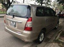 Cần bán xe Toyota Innova đời 2012, màu vàng chính chủ, giá 520tr giá 520 triệu tại Hải Phòng