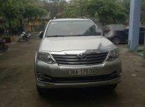 Cần bán Toyota Fortuner năm 2016, màu bạc chính chủ giá 760 triệu tại Thanh Hóa