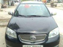 Bán Toyota Vios đời 2005, màu đen chính chủ giá 155 triệu tại Hà Nội