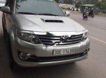 Cần bán lại xe Toyota Fortuner 2.5G đời 2015, màu bạc chính chủ, giá chỉ 780 triệu giá 780 triệu tại Hà Nội