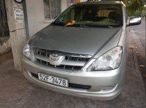 Cần bán lại xe Toyota Innova đời 2008, màu bạc giá 360 triệu tại Khánh Hòa