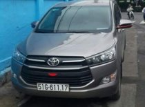 Cần bán gấp Toyota Innova đời 2018, màu xám chính chủ, giá tốt giá 750 triệu tại Tp.HCM
