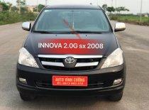 Bán Toyota Innova 2.0G sản xuất năm 2008, màu đen gốc thủ đô giá 360 triệu tại Hà Nội