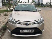 Bán Toyota Vios sản xuất 2015, màu vàng cát, 415 triệu giá 415 triệu tại Hà Nội