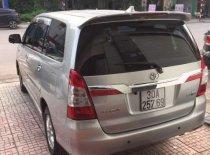 Bán lại xe Toyota Innova sản xuất năm 2014, màu bạc số tự động giá 565 triệu tại Bắc Giang