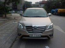 Bán Toyota Innova E đời 2013 số sàn, máy xăng, màu vàng cát giá 485 triệu tại Hà Nội