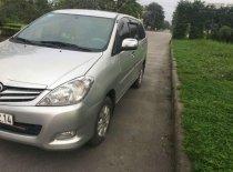Cần bán gấp Toyota Innova G đời 2010, màu bạc giá 365 triệu tại Hà Nội