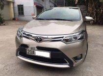 Cần bán Toyota Vios 2016, màu vàng, số tự động giá 518 triệu tại Thái Nguyên