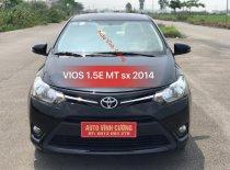 Bán Toyota Vios 1.5E MT đời 2014, màu đen giá 438 triệu tại Hà Nội