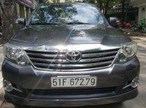 Cần bán xe Toyota Fortuner 2013 máy xăng, xe mới 90% giá 628 triệu tại Tp.HCM