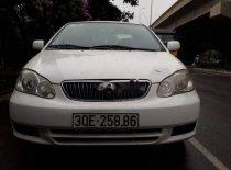 Bán xe Toyota Corolla đời 2003, màu trắng, giá cạnh tranh giá 160 triệu tại Hà Nội