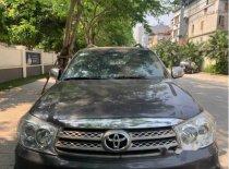Cần bán xe Toyota Fortuner 2.5MT đời 2011, màu đen chính chủ giá 625 triệu tại Hà Nội