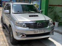 Bán Toyota Fortuner đời 2013, màu bạc giá 740 triệu tại Tiền Giang