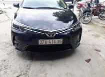 Bán Toyota Corolla altis sản xuất năm 2018, màu đen, chính chủ giá 830 triệu tại Nghệ An