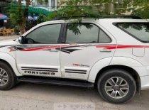 Cần bán Toyota Fortuner TRD Sportivo 4x4 AT đời 2012, màu trắng giá 640 triệu tại Hải Phòng