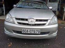 Cần bán gấp Toyota Innova G đời 2008, màu bạc chính chủ giá 395 triệu tại Đồng Nai