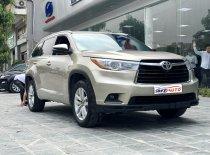 Bán Toyota Highlander sản xuất 2016, màu vàng cát nhập khẩu Mỹ giá 1 tỷ 800 tr tại Hà Nội