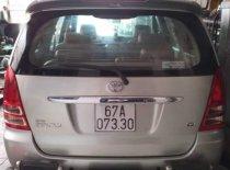 Bán Toyota Innova năm 2008, màu bạc xe gia đình giá 350 triệu tại Bình Dương