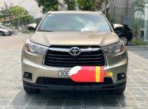 Cần bán Toyota Highlander LE 2.7 Sx 2016, màu vàng cát, xe nhập Mỹ đã lên full option LH: 0982.84.2838 giá 1 tỷ 780 tr tại Hà Nội