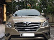 Bán xe Toyota Innova E đời 2014, màu vàng  giá 465 triệu tại Hà Nội