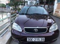 Cần bán Toyota Corolla altis 1.8G MT năm 2002, màu nâu xe gia đình, giá 210tr giá 210 triệu tại Hà Nội