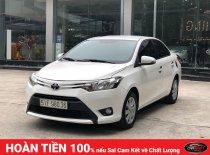 Cần bán Toyota Vios E 1.5 MT 2016, số sàn, màu trắng giá 446 triệu tại Hà Nội