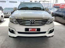 Bán Toyota Fortuner TRD đời 2016, màu trắng, giá thương lượng tại showroom giá 950 triệu tại Tp.HCM