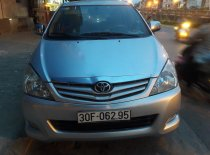 Nhà trật cần bán lại xe Toyota Innova G 2011, màu bạc giá 400 triệu tại Hà Nội