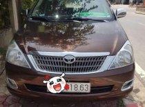 Bán Toyota Innova đời 2007, màu nâu giá 360 triệu tại Hà Tĩnh