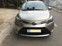 Gia đình cần bán xe Toyota vios 2017, số tự động, màu vàng cát giá 483 triệu tại Tp.HCM