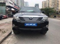 Bán ô tô Toyota Fortuner 2.7V 4x2AT sản xuất 2015, màu đen giá 770 triệu tại Hà Nội