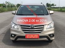 Bán Toyota Innova 2.0E sản xuất 2014, màu vàng giá 545 triệu tại Hà Nội